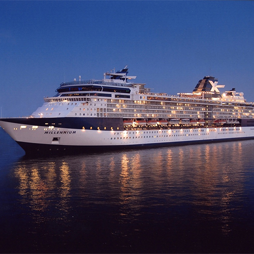 Alaska cruise on celebrity millenium itinerary
